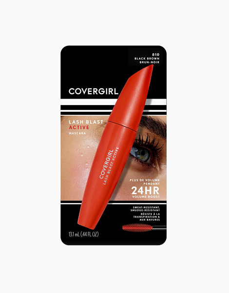 Lash Blast Active Mascara by CoverGirl | Black Brown