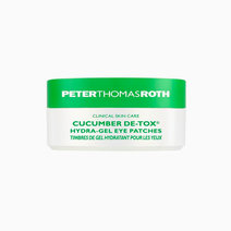 Ptr cucumber de tox hydra gel eye patches