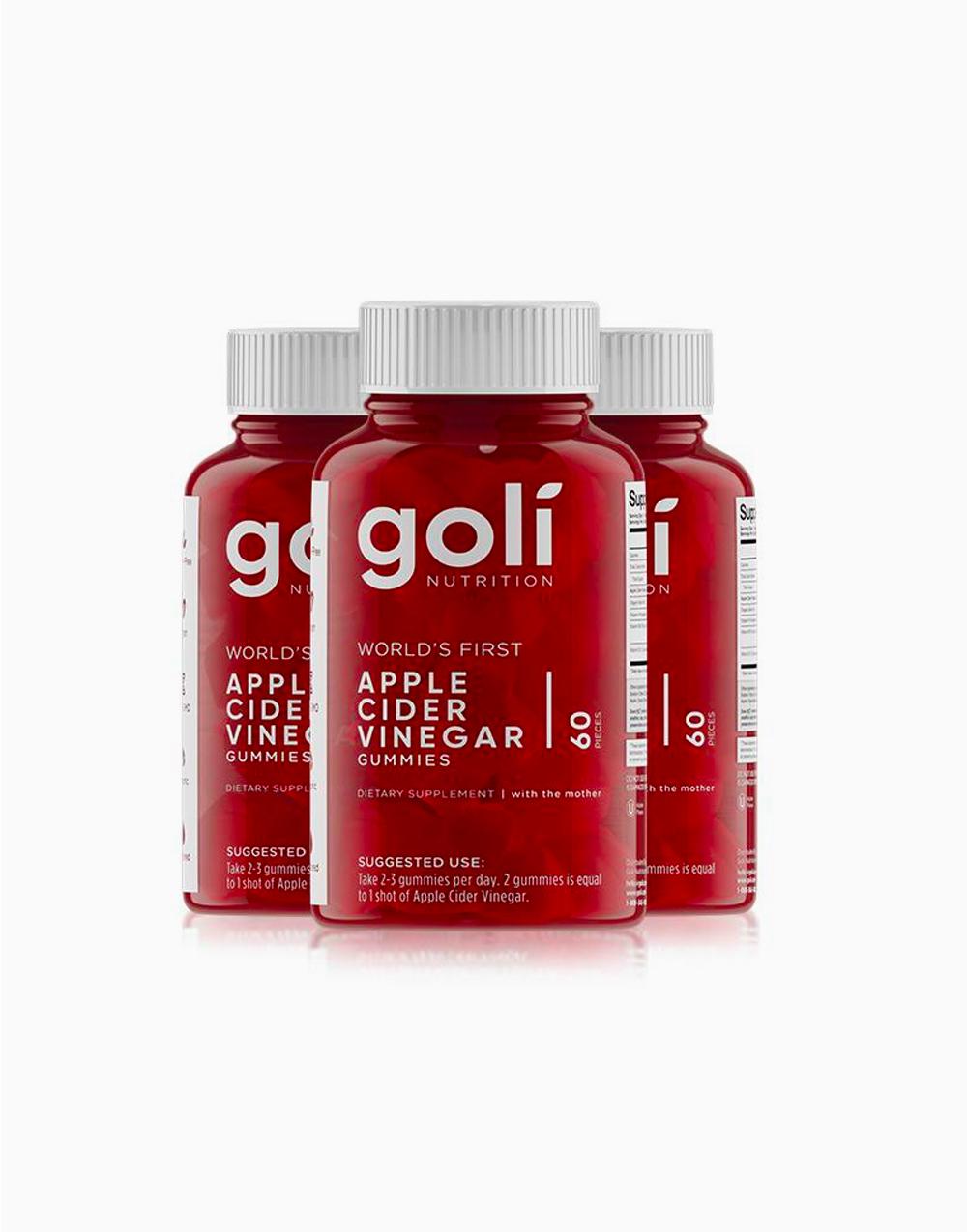 Apple Cider Vinegar Gummies (3 Month Supply) by Goli