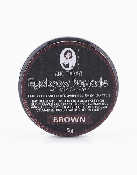 Ang Taray! Tinted Brow Pomade with Hair Grower by Neneng | Brown