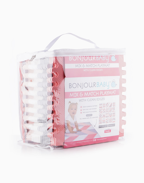 Mix and Match Playmat by Bonjour Baby | Pink