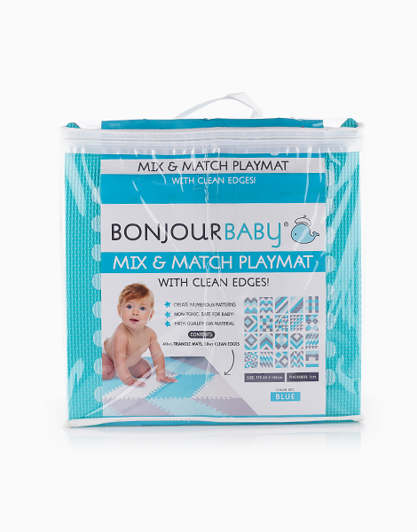 Mix and Match Playmat by Bonjour Baby | Blue