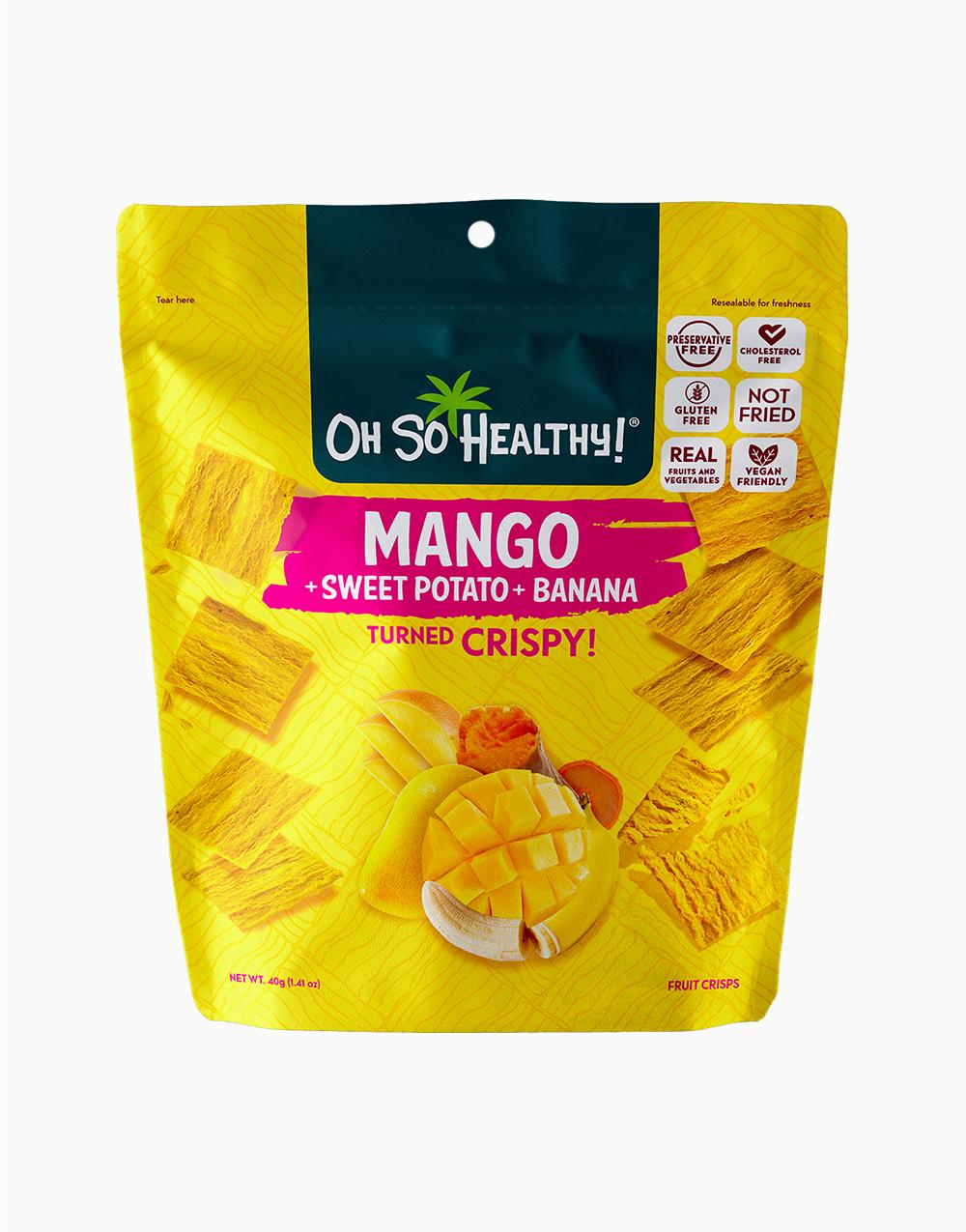 Mango Sweet Potato Banana Fruit Crisps by Oh So Healthy!