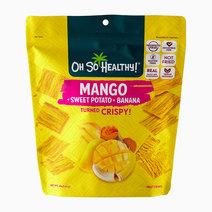 Mango Banana Fruit Crisps by Oh So Healthy!