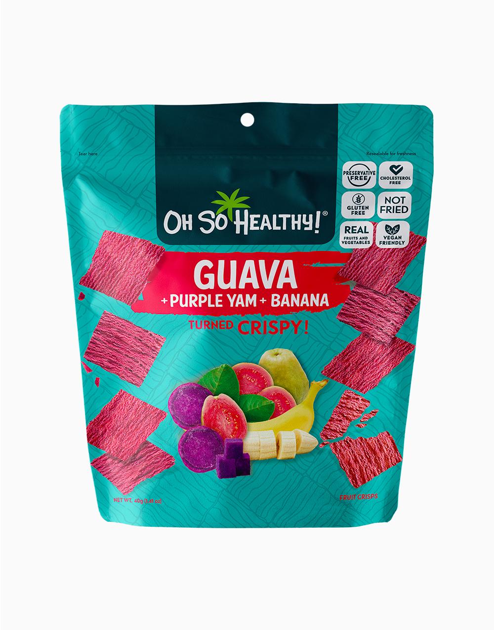 Guava Purple Yam Banana Fruit Crisps by Oh So Healthy!