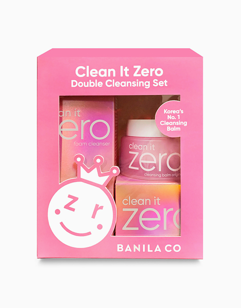 Clean It Zero Double Cleansing Set by Banila Co.