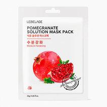 Lebelage pomegranate mask sheet