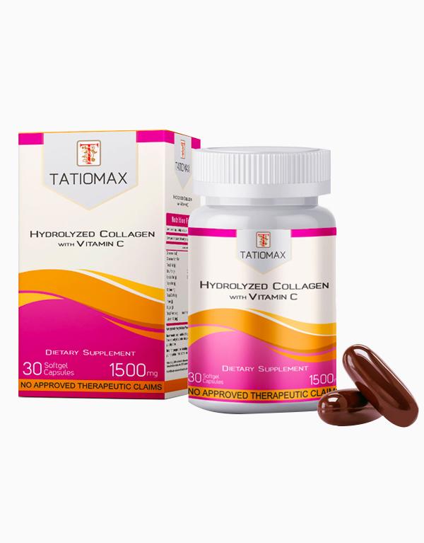 Tatiomax Hydrolyzed Collagen with Vitamin C (1500mg) by Tatiomax