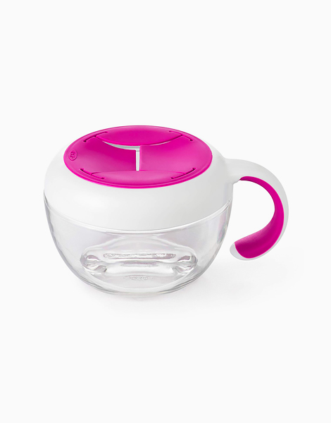 Flippy Snack Cup by Oxotot   Pink