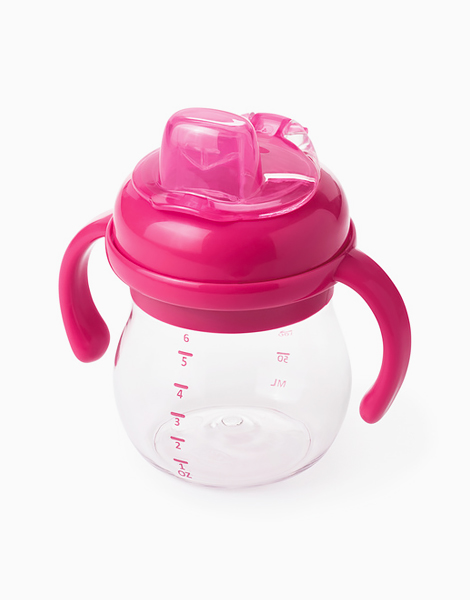 Grow Soft Spout Cup (6oz) by Oxotot   Pink