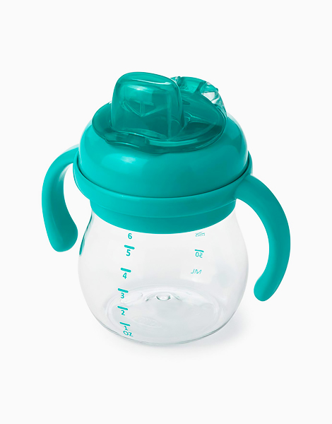 Grow Soft Spout Cup (6oz) by Oxotot   Teal