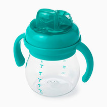 Oxo tot grow soft spout cup with handles 6 oz teal image01