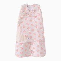 Halo sleepsack swaddle watercolor rose 01