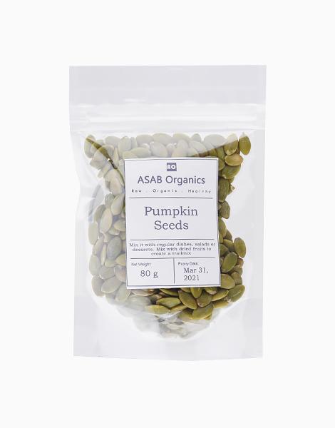 Pumpkin Seeds (80g) by ASAB Organics