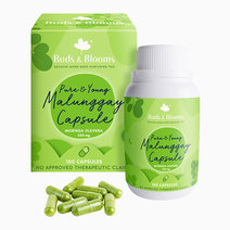 Pure & Young Malunggay Capsule (100 Capsules) by Buds & Blooms