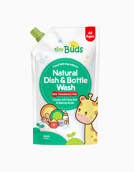 Dish & Bottle Wash Refill (500ml) by Tiny Buds