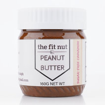 Sugar Free Cinnamon Peanut Butter (160g) by The Fit Nut PH