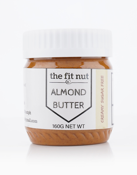 Sugar Free Almond Butter (160g) by The Fit Nut PH