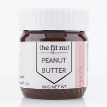 Sugar Free Chocolate Peanut Butter (160g) by The Fit Nut PH