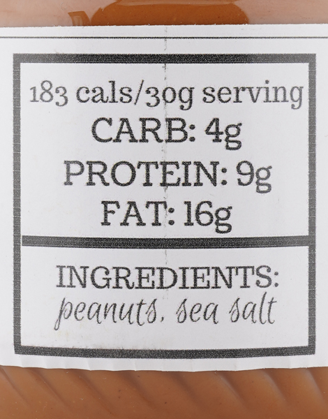 Lightly Salted Peanut Butter (160g) by The Fit Nut PH