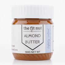 Lightly Salted Almond Butter (160g) by The Fit Nut PH