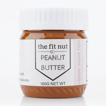 Regular Sugar Free Creamy Peanut Butter (160g) by The Fit Nut PH