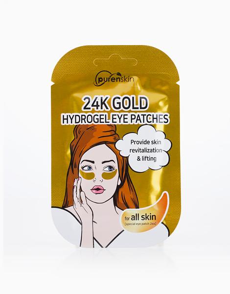 24K Gold Hydrogel Eye Patches by Purenskin Korea