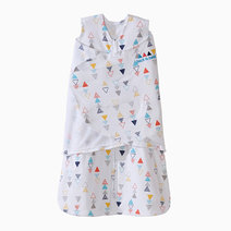 Halo sleepsack swaddle multicolor triangle image 01