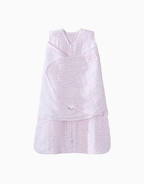 SleepSack Swaddle in Pink Circles by Halo   Newborn