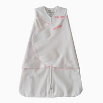 Halo sleepsack swaddle pink pin dot image 01