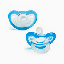 Razbaby jollypop pacifier three months plus blue