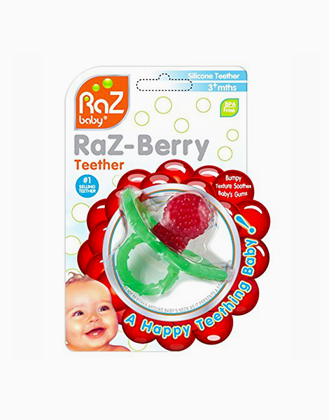 Razberry Teether by RazBaby | Red