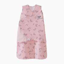Halo sleepsack swaddle pink butterfly scribble
