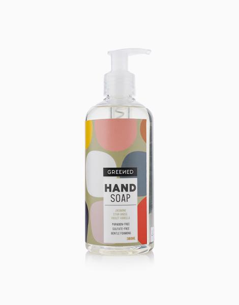 Greened Liquid Hand Soap by LivStore | Jasmine, Star Anise and Violet Vanilla