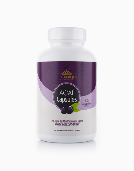 Organique Açaí Freeze-Dried Capsules (60s) by Organique Açaí