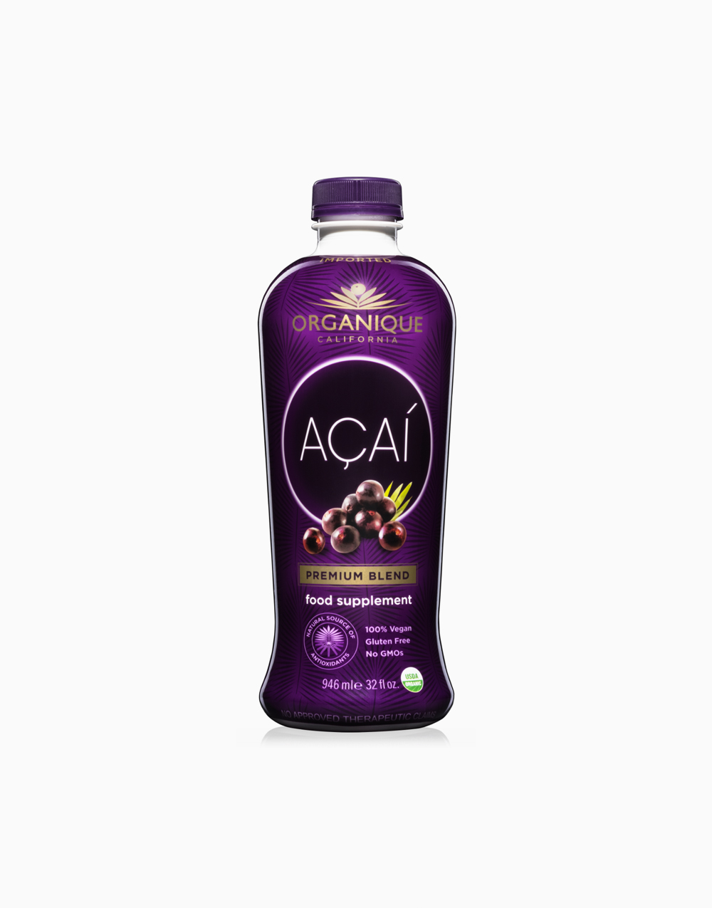Organique Açaí Premium Blend (946mL) by Organique Açaí