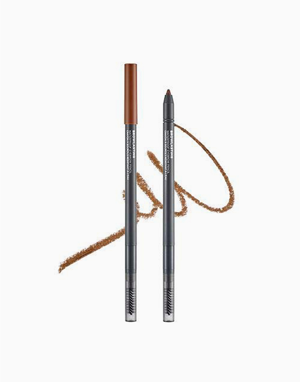 Browlasting Waterproof Eyebrow Pencil 02 Brown by The Face Shop