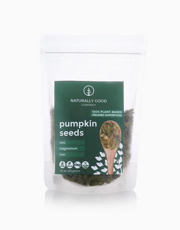 Organic Raw Pumpkin Seeds (250g) by Naturally Good Company