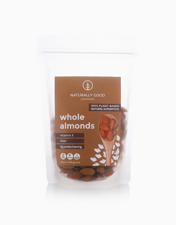 Whole Raw Almonds (250g) by Naturally Good Company