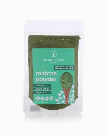 Organic Matcha Powder (50g) by Naturally Good Company