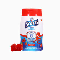 Scotts dha gummies strawberry 60 1