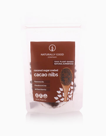 Coconut Sugar Coated Cacao Nibs (75g) by Naturally Good Company
