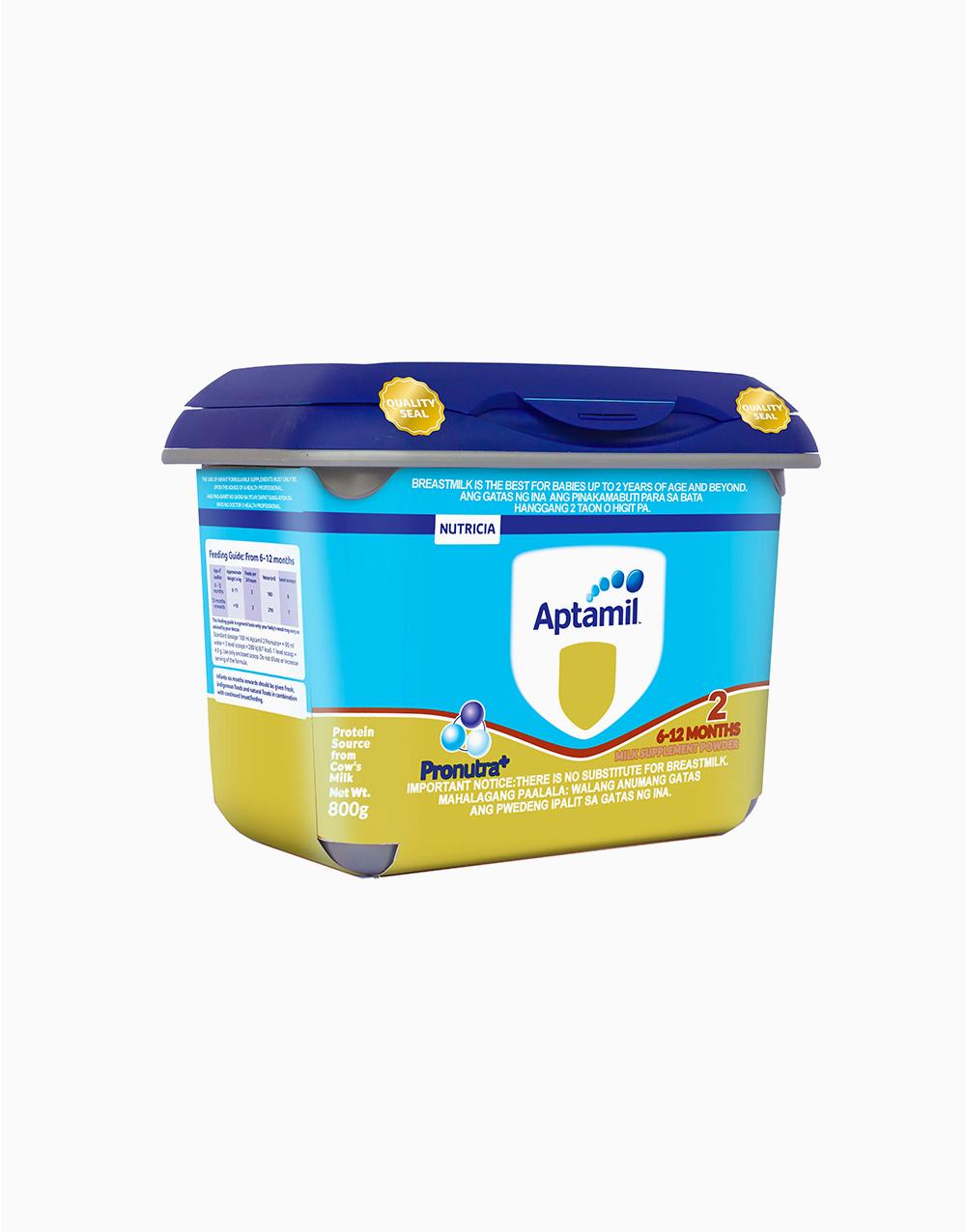 Aptamil Pronutra+ 2 (800g) by Nutricia