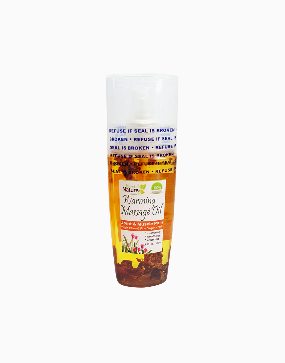 Warming Massage Oil (100ml) by Next2Nature