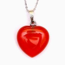 Crystal beauty agate healing heart pendant 1