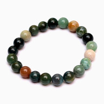 Indian Agate Bracelet by Crystal Beauty