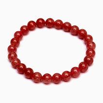 Crystal beauty bracelet   strawberry quartz