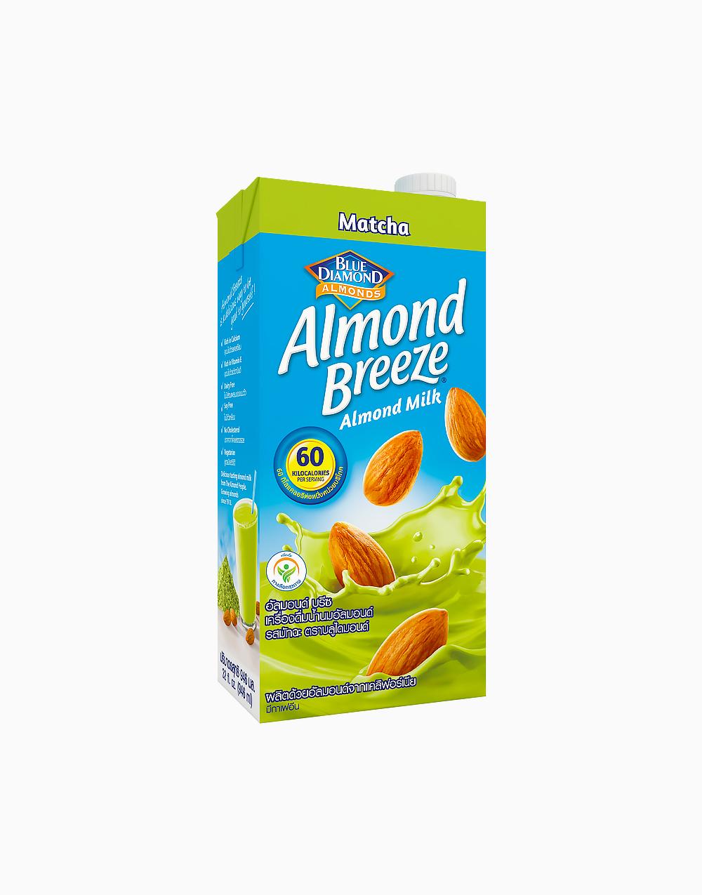 Almond Breeze Matcha (946ml) by Blue Diamond