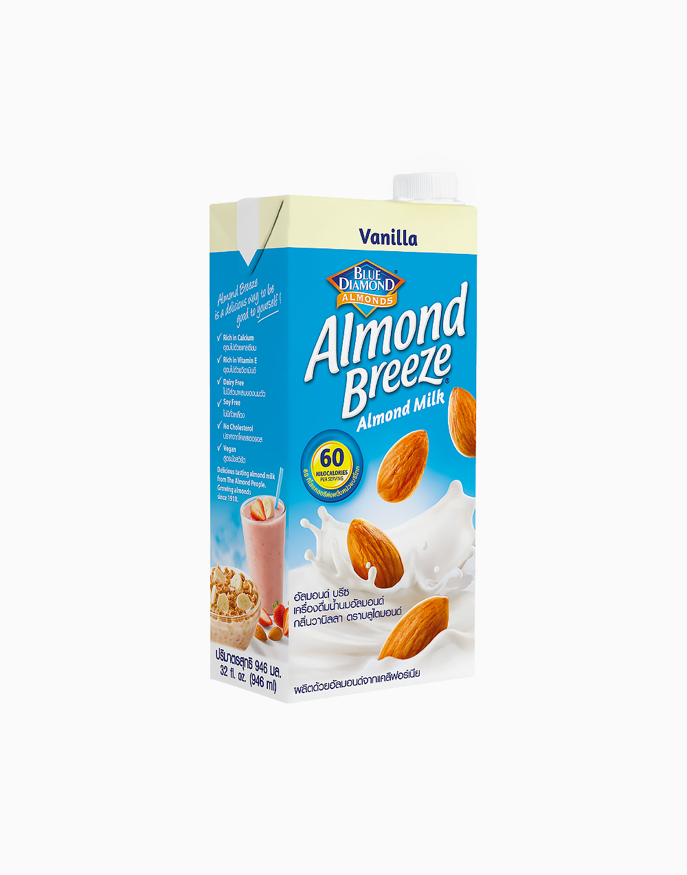 Almond Breeze Vanilla (946ml) by Blue Diamond