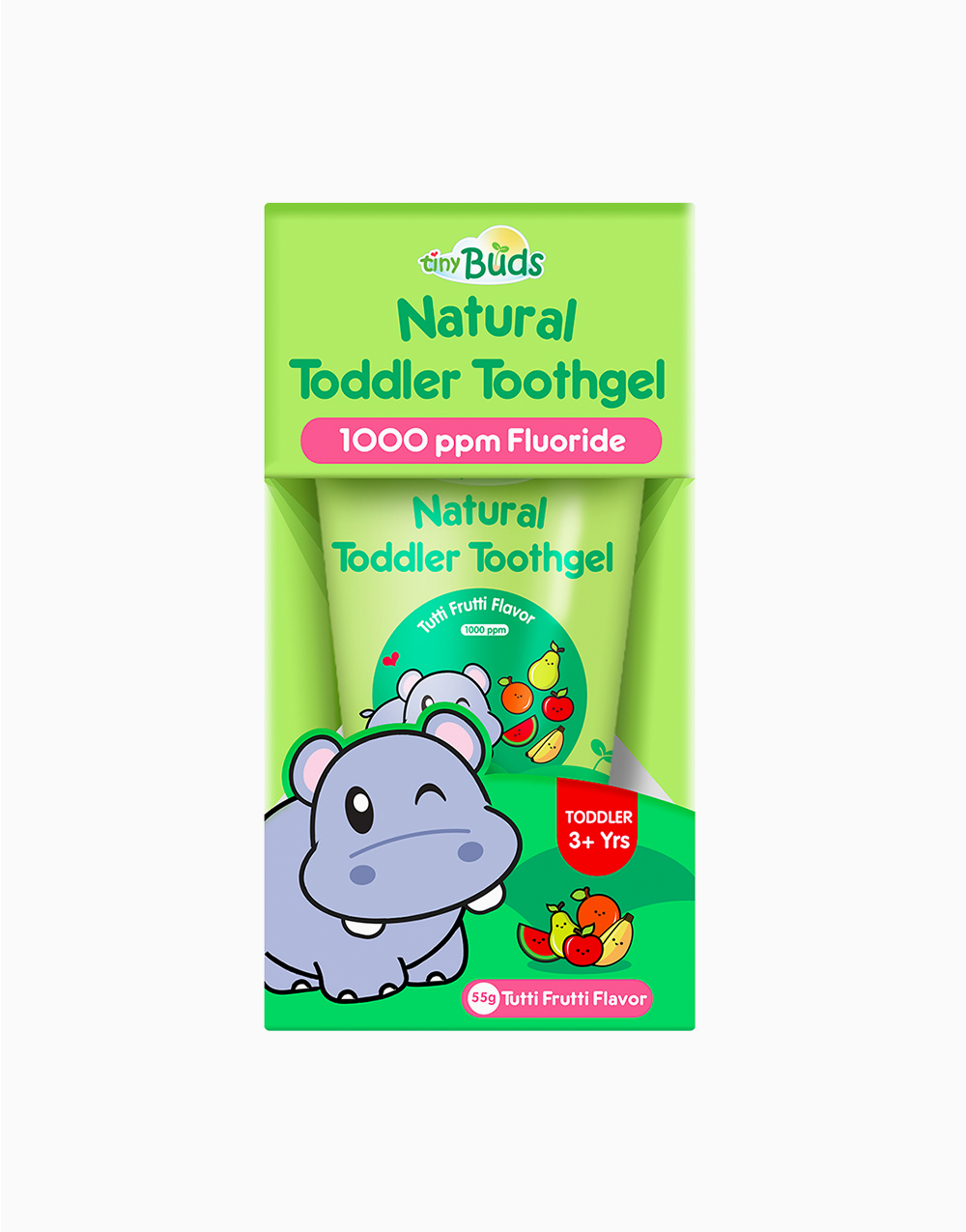 Natural Teething Gel Stage 2 by Tiny Buds